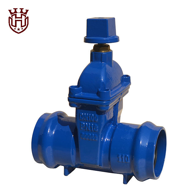 Huahui Gate Valve|Socket end Resilient seated gate valve with Cap-nut
