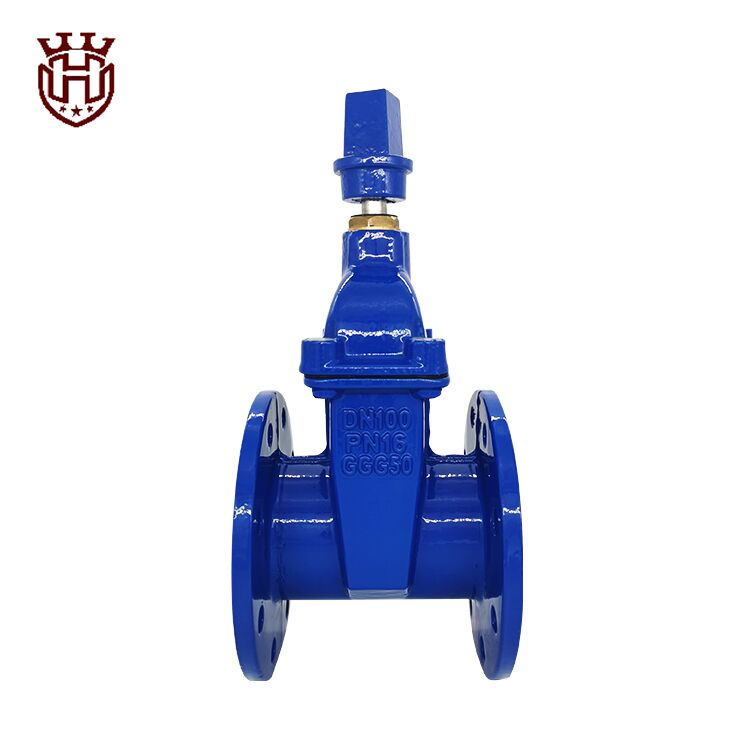 Huahui Gate Valve|light type resilient seated gate valve with cap nut DIN3352 F4
